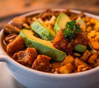 Frojles plato típico de la región andina