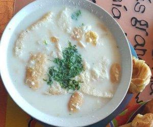 Changua con huevo torta Receta
