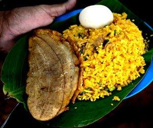 plato típico de la región caribe