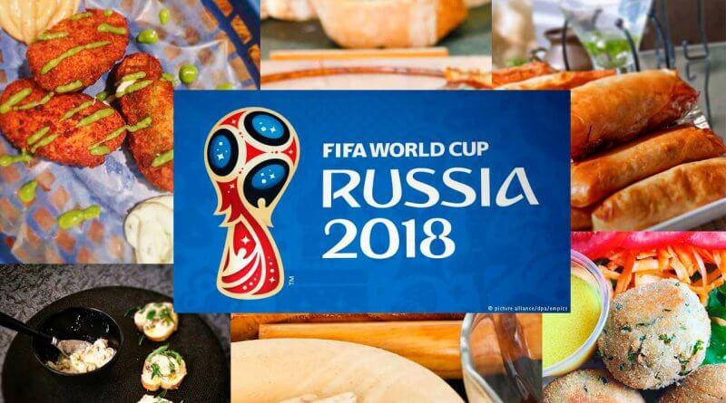 Comidas mundial de futbol