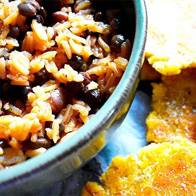 arroz con gandules receta
